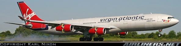 A340 Virgin Atlantic